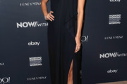 Nicole Richie One Shoulder Dress