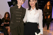 Perrey Reeves Pussybow Blouse