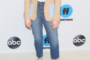 Elizabeth Henstridge High-Waisted Jeans