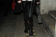 Anna Friel Skinny Pants