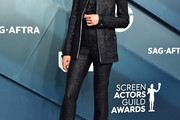Margaret Qualley Pantsuit