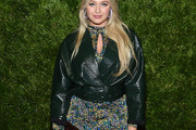 Iskra Lawrence Leather Jacket