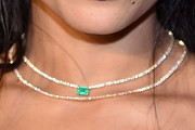 Zoë Kravitz Layered Diamond Necklace