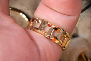 Billie Eilish Gold Ring