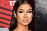 Jhene Aiko Long Straight Cut