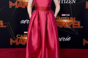 Elizabeth Henstridge Strapless Dress