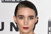 Rooney Mara Short Side Part