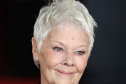 Judi Dench Messy Cut