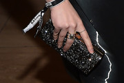 Kat Dennings Beaded Clutch