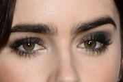 Lily Collins Smoky Eyes