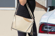 Goldie Hawn Leather Tote