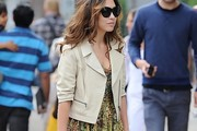 Myleene Klass Motorcycle Jacket