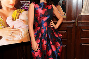 Hilaria Baldwin Print Dress