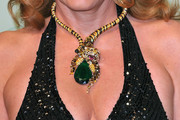 Caroline Gruosi-Scheufele Gemstone Collar Necklace