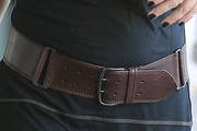 Kristen Johnston Leather Belt