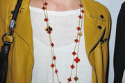 Melanie Thierry Layered Gemstone Necklace