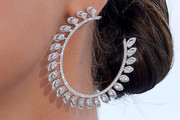 Selena Gomez Diamond Hoops