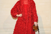 Mia Goth Evening Coat