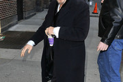 Al Pacino Wool Coat