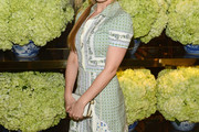 Isla Fisher Print Dress
