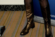 Carly Simon Flat Boots