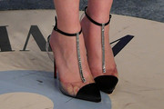 Emilia Clarke Evening Pumps