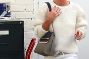 Rosie Huntington-Whiteley Leather Shoulder Bag