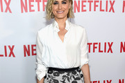Taylor Schilling Button Down Shirt