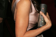 Vanessa Marcil Metallic Clutch