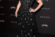 Jennifer Tilly Beaded Dress