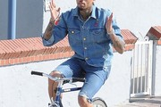 Chris Brown Jean Shorts