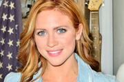 Brittany Snow Medium Wavy Cut