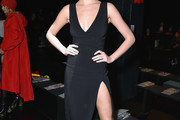 Hailey Clauson Form-Fitting Dress