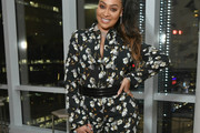 La La Anthony Print Blouse