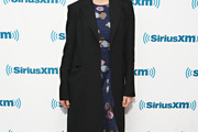 Emily Mortimer Wool Coat
