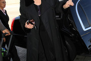 Joan Rivers Trenchcoat