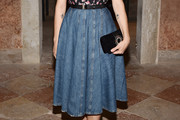 Alia Shawkat Denim Skirt
