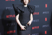 Natasha Lyonne Shoulder Pad Dress