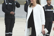 Queen Letizia of Spain Oversized Jacket
