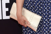 Rosie Perez Metallic Clutch
