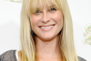 Bonnie Somerville Long Straight Cut with Bangs