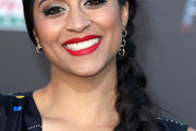 Lilly Singh Long Braided Hairstyle