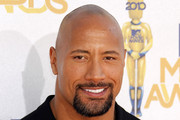 Dwayne Johnson Bald