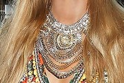 Paris Hilton Gold Statement Necklace