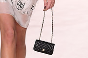 Kaia Gerber Quilted Purse