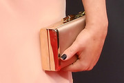 Rachel Bloom Satin Clutch