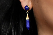 Lana Condor Dangling Gemstone Earrings