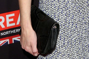 Gillian Anderson Leather Clutch