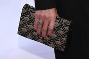 Ellen Barkin Beaded Clutch