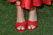 Karen Gillan Strappy Sandals